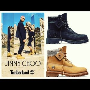 TIMBERLAND x Jimmy Choo BOOTS Colab Women's Size 8